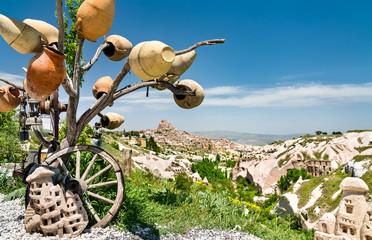 Wish tree in Cappadocia, Turkey