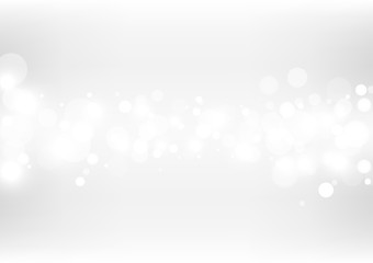 Abstract bokeh lights with soft light background. Wall mural