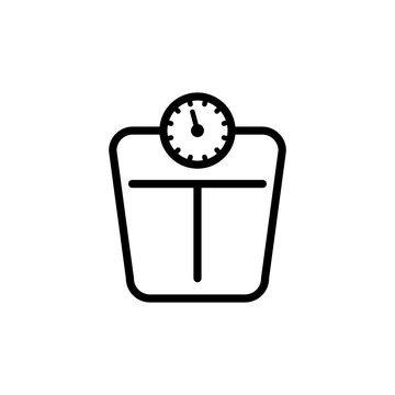 Floor scales icon design trendy