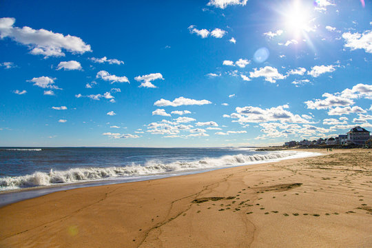Beach view of Salisbury State Reservation, Massachusetts