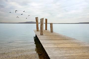 friedvoller Steg, Ruhe und Einsamkeit