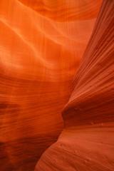 Türaufkleber Arizona Texture de la roche et du sable à Antelope Canyon - Grand Ouest Américain
