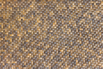 Beautiful wickerwork made of reeds