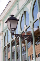 Fontan Market Building in Oviedo; Asturias