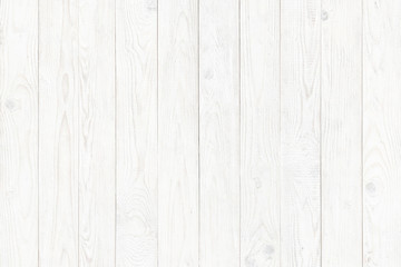 Wall Mural - wood texture, old wooden board pattern, white copy space