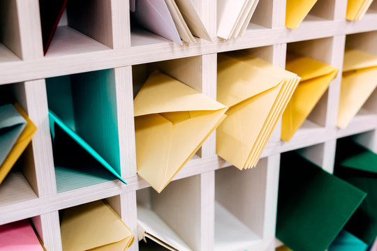 Colored Mail Envelopes Bundle