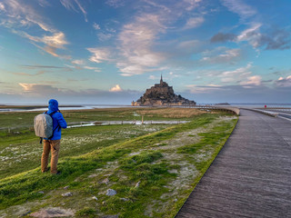 Le Mont Saint Michel in der Normandie