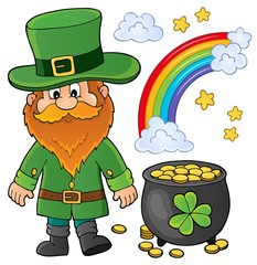Photo sur Aluminium Enfants St Patricks Day theme image 1