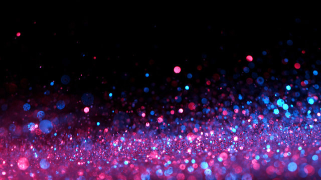 Abstract neon glittering background