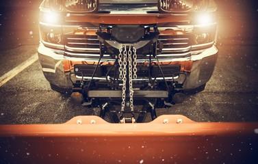 Plowing Truck Preparation