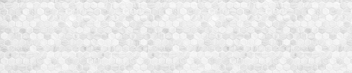 Obraz Honeycomb patterned wood panels in hexagonal shape, wood, blackground, abstract brown pattern - fototapety do salonu