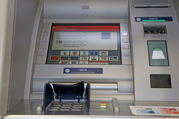 ATM in Europe  (Landau, Germany, January 08, 2020)