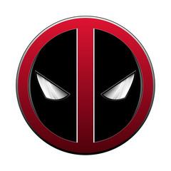 Cartoon superhero mask icon, mask of the superhero, symbol, Avatar, vector illustration