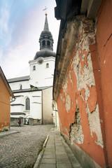 Wall Mural - Old ruined walls of Tallinn