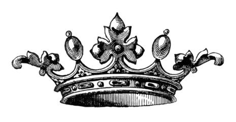 Royal Crown Sketched Vector