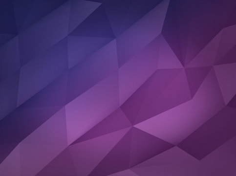 Computer generated polygonal background. Ideal for your futuristic, sci-fi concepts