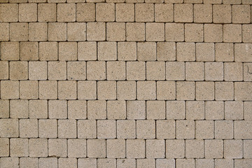 details of cement brick wall