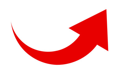 Fototapeta strzałka ikona obraz
