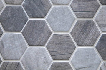 Seamless pattern ceramic tile hex hexagon options for home improvement and renovations and new construction flooring and backsplash options