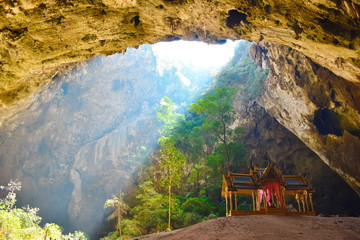 Canvas Prints Honey Attractions Of Thailand. Beautiful places in Asia. Mountain landscape inside.