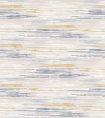 Vecteur de lin français gris cassé modèle sans couture de texture de rayure. Coup de pinceau grunge abstrait ornemental. Textile de style ferme de campagne. Imprimé à rayures irrégulières sur l& 39 ensemble.