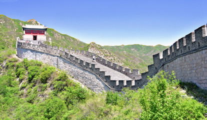 Fotobehang Chinese Muur Great Wall Juyonguan