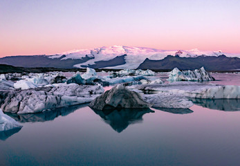 Foto op Plexiglas Lichtroze Iceland