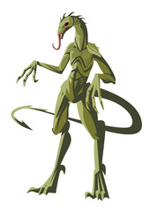 chupacabras lizard reptilian monster