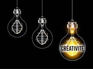 Illustration du concept de créativité