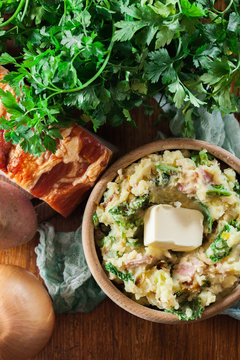 Colcannon, traditional Irish dish