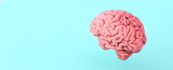 Fototapeta pink brain