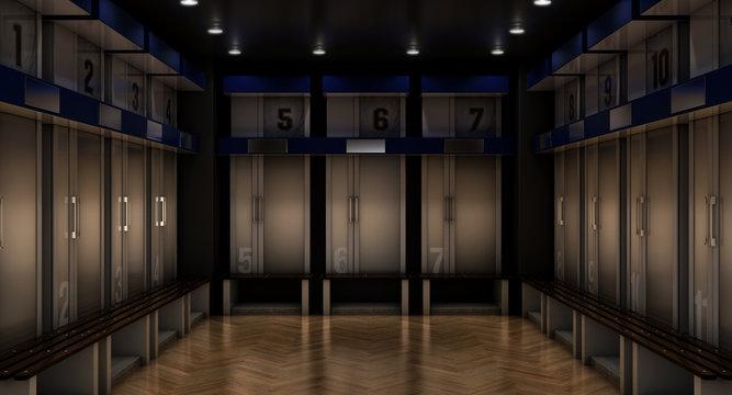 Sports Locker Room