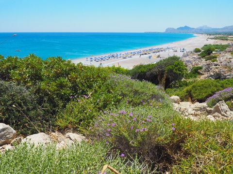 Rhodos - Traganou und Afandou Beach
