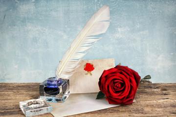 Liebe - Brief schreiben