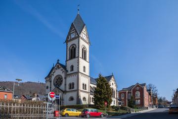 Streets of Sonneberg town