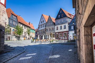 Townscape of Kronach Fototapete
