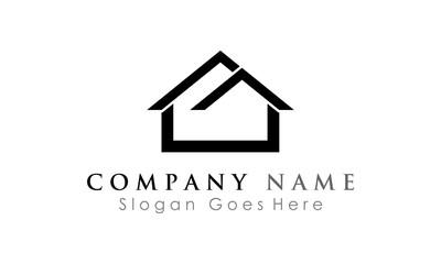 house simple logo icon