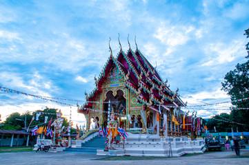 Foto auf Leinwand Kultstatte thai temple