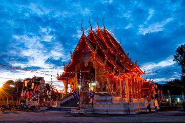 Printed kitchen splashbacks Place of worship thai temple