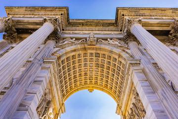 Spoed Foto op Canvas Milan Arch of Triumph (Arco della Pace) at Park Sempione in Milan, Italy