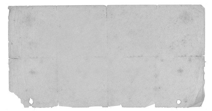 Vintage Distressed Newspaper Folded vintage page texture
