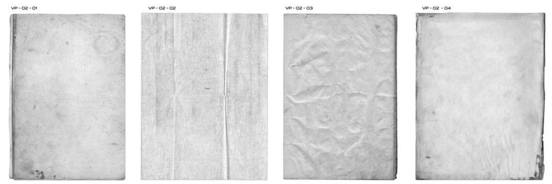 Creased Paper Texture Pack vintage distressed blank pages