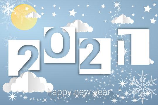 2021 - happy new year 2021