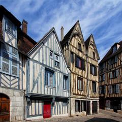 Maisons à colombages d'Auxerre
