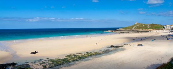 Fototapete - Porthmeor Beach St Ives Cornwall England