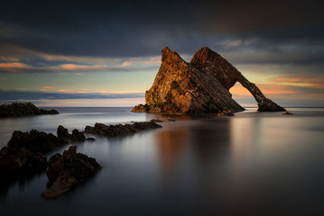Fiddle Rock formation