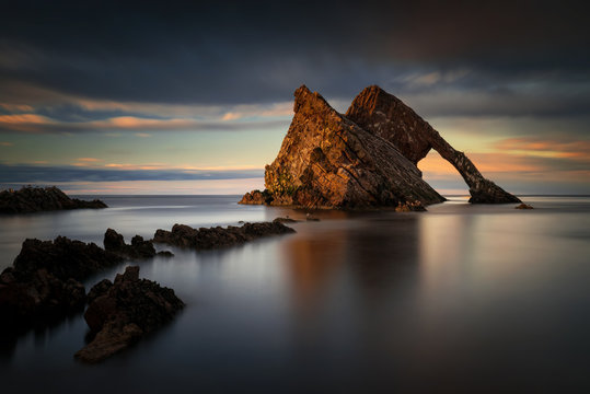Fiddle Rock formation