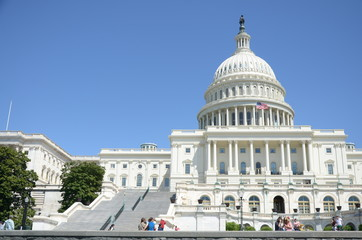 united states capitol building in washington dc Fotomurales