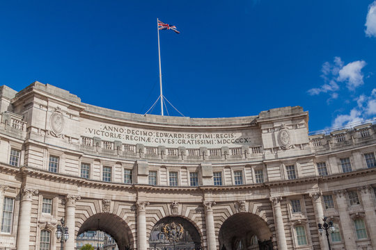 View of Admiralty Arch in London, United Kingdom
