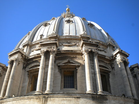 The dome of St. Peter's Basillica